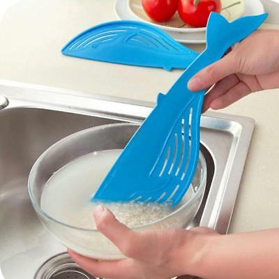 Plastic Whale Shaped Creative Useful Washing Handle Type Water Filter Frame LG