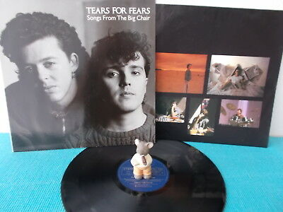 UK wave-pop > TEARS FOR FEARS songs from the big chair > D 1985 OIS