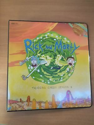 Rick And Morty Season 1 Offical Cryptozoic Binder [SEALED WITH CARDS]