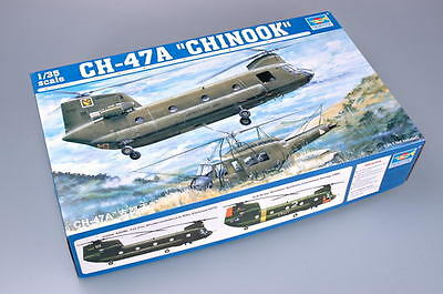 TRUMPETER® 05104 CH-47A Chinook Helicopter in 1:35