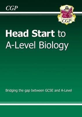 New Head Start to A-Level Biology by CGP Books 9781782942795 (Paperback, 2015)