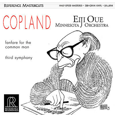 Aaron Copland Fanfare For The Common Man  Reference Recordings  Rm1511 Oue