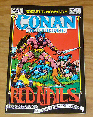 Robert E. Howard's Conan the Barbarian: Red Nails #1 VF/NM barry windsor-smith