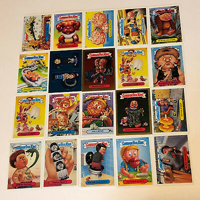 GARBAGE PAIL KIDS MIXED LOT trading cards 2004 topps 20 foil gold blue sticker 3