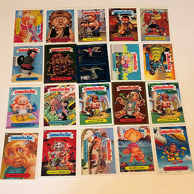 GARBAGE PAIL KIDS MIXED LOT trading cards 2004 topps 20 foil gold blue sticker 4