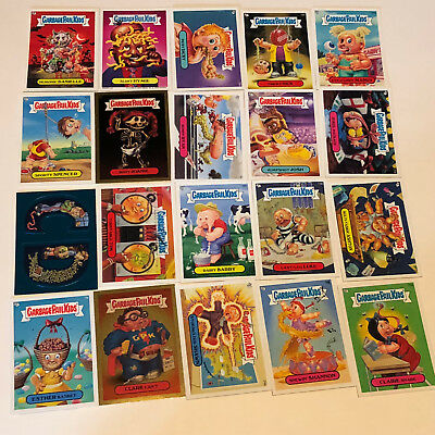 GARBAGE PAIL KIDS MIXED LOT trading cards 2004 topps 20 foil gold blue sticker 5