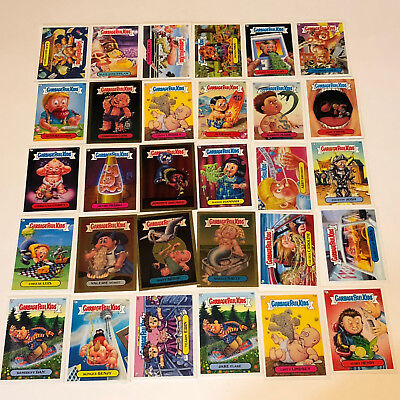 GARBAGE PAIL KIDS MIXED LOT trading cards 2004 topps 30 foil gold blue sticker 6