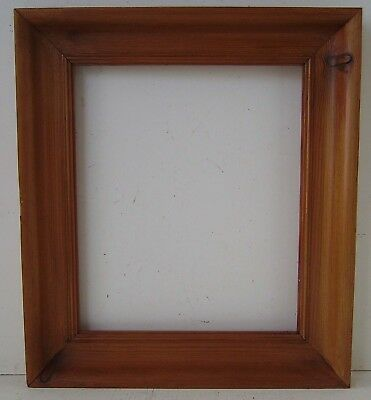 Unglazed Solid Wood Pine Picture Or Mirror Frame