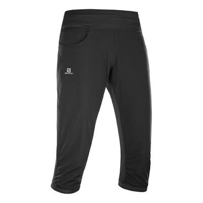 Salomon Elavate Capri Pant W black Caprihose Damen