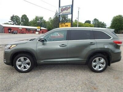 2017 Toyota Highlander Hybrid Limited AWD 2017 Toyota Highlander Hybrid Limited AWD SUV 3rd Row Seating Navigation Sunroof