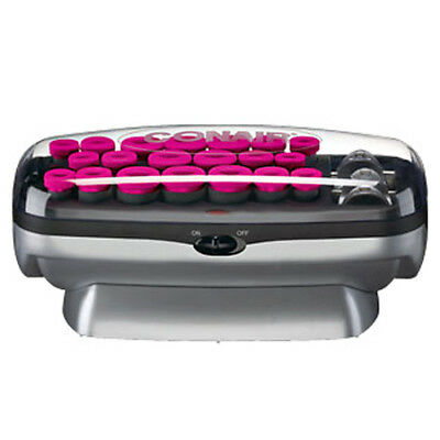 Conair CHV26HX Xtreme Instant Heat Multi sized Velvet Hot Rollers, Pink
