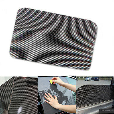 2pcs Anti-UV Car Rear Window Shade Cover Visor Shield Self-adhesive Static Cling