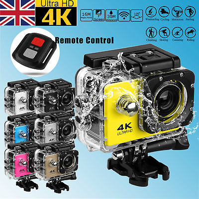 SJ9000 4K 1080P  2'' Sport Action Camera WiFi Waterproof MOTOR BIKE W/ Remote