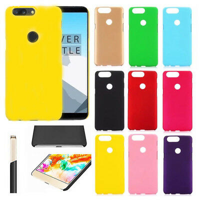 For Oneplus 6T 5 5T 3 / 3T Candy Ultra Slim Matte Frosted Shield Hard Case Cover