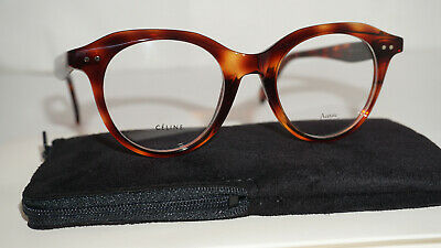 88d5cce2897 BRAND NEW CELINE Eyeglasses CL 41421 T6U25 Dark Light Havana 45 25 ...