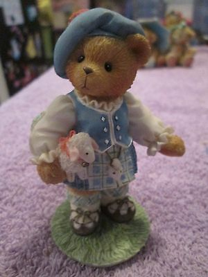 Enesco Cherished Teddies Lorna Our Love In Highlands Bear Figurine 1996 202452