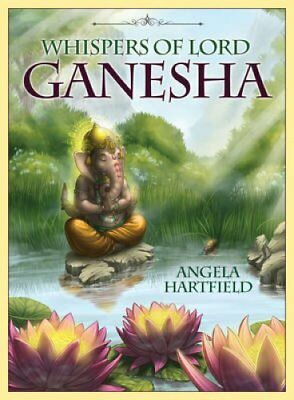 Whispers of Lord Ganesha Oracle Cards by Angela Hartfield 9781922161932