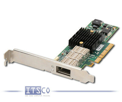 NETZWERKKARTE MELLANOX CONNECTX-2 VPI HCA PCIe x8  SINGLE PORT FRU 81Y1533
