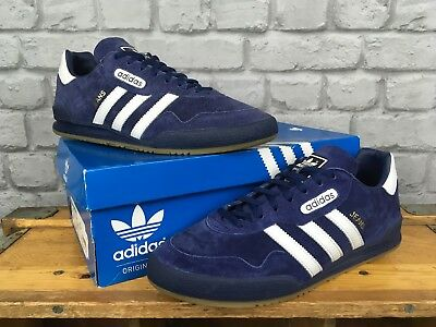purchase cheap 78adb 9fb0d Adidas Originals Mens Uk 9 Eu 43 Super Navy Blue Jeans Suede Trainers