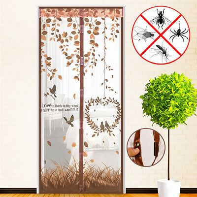 Magnetic Mesh Instant Guard Bug Free Door Screen Fly Bug Insect Anti Mosquito