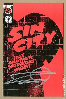 Sin City Just Another Saturday Night Wizard 1/2 #1 1987 VF 8.0