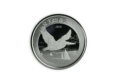 2 $ Dollar Eastern Caribbean 8 Brown Pelican St. Kitts & Nevis 1 oz Silber 2018