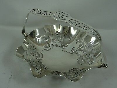SOLID SILVER sweet basket, 1859, 125gm