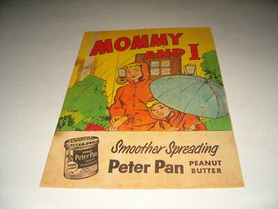 Mommy And I Peter Pan Advertising Coloring Book