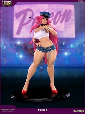 Quarter Scale Statues--Street Fighter 4 - Poison 1:4 Mixed Media Statue