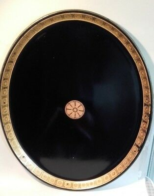 A Fine Antique Georgian Tole / Toleware Hand Painted Tray