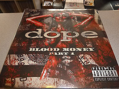 Dope - Blood Money Part 1 - LP Vinyl // Neu & OVP // Gatefold