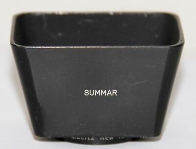 Leica SOOMP Original Lens Hood For Summar 5cm f/2 E. Leitz New York NICE
