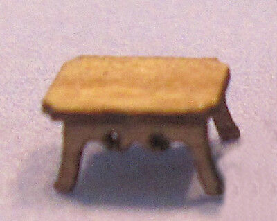 1/144th Scale Victorian End table kit (make 2) laser cut  by sdk miniatures LLC