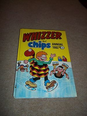 Vintage Whizzer & Chips Annual, 1982, HB, Unclipped, See others & Combine Ship