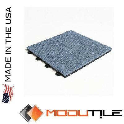 Trade Show Floor Options Carpet Premium Blue - Made In The USA - FREE SHIPPING