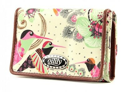 Oilily Purse Tropical Birds Flap Wallet