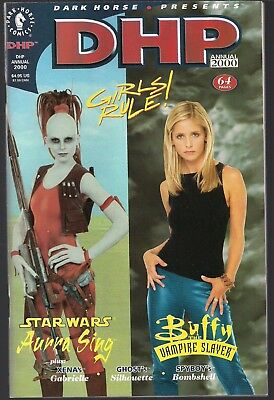 Dark Horse Presents Dhp Annual 2000 Girls Rule Buffy & Star Wars Photo Xena+ Nm-