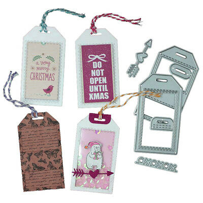 bookmark metal cutting dies stencil scrapbook paper album embossing craft JR