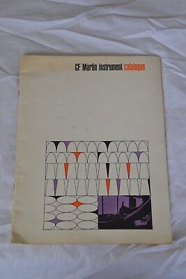 1965/66 cf martin Guitar catalog vintage namm music trade show