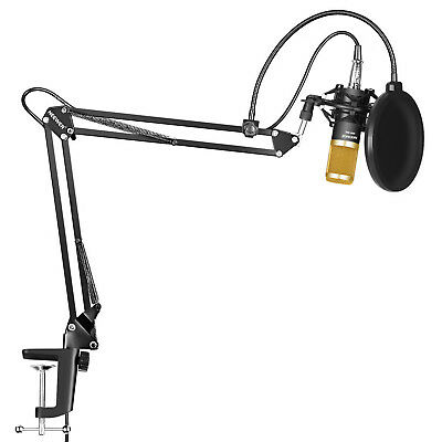 Neewer Studio Broadcasting Recording Condenser Microphone Kit with Arm Stand