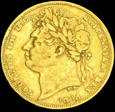 King George The Iiii 1821 Gold Sovereign