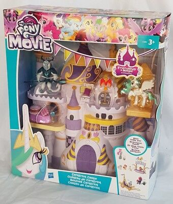 My Little Pony the Movie Schloss Canterlor mit Figuren unbespielt OVP Neu Hasbro