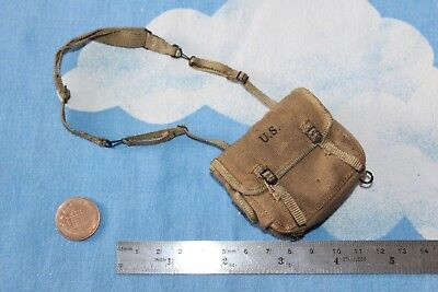 DID DRAGON IN DREAMS 1:6TH SCALE WW2 U.S. 77th INFANTRY DIV MEDIC MUSETTE BAG