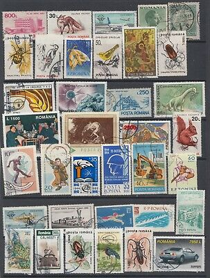 Useful STAMPS OF ROMANIA  from a old collection.Starting at Just 69p (REF 13718)