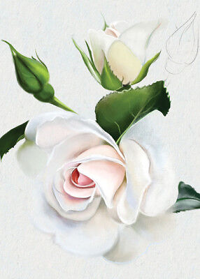 BEAUTIFUL 'FLEUR' CARDS x12 JUST 27p,stunning design-textured board-wrapped (FL8