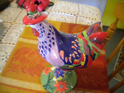 Poultry in Motion Rooster Sharon Neuhaus SPRING CHICKEN #16204