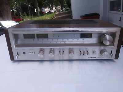 Vintage Pioneer SX-780 AM/FM Stereo Receiver WORKS GREAT