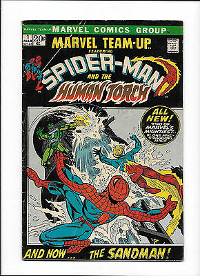 Marvel Team-Up #1  [1972 Gd+]  Spider-Man & Human Torch