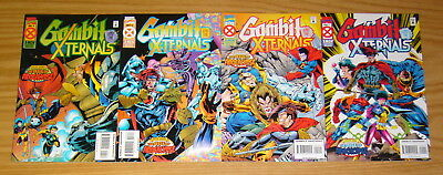 Gambit and the X-Ternals #1-4 VF/NM complete series AGE OF APOCALYPSE nicieza