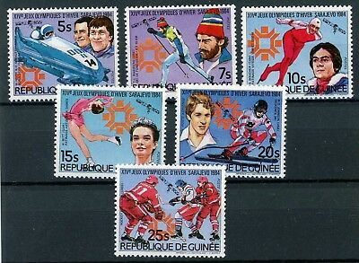 Guinea MiNr. 1003-08 postfrisch/ MNH Olympia (Oly912
